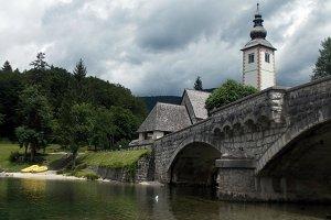Bohinj ~church