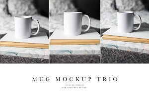Mug Mockup Trio Bundle