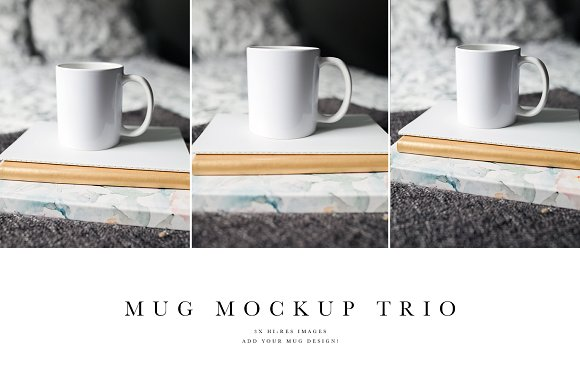 Mug Mockup Trio Bundle