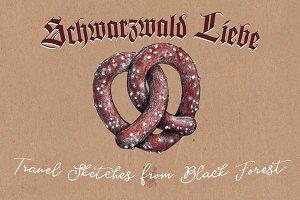 Schwarzwald Liebe - Travel Sketches