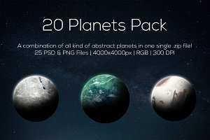 Planets Pack 5