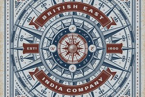 British East India Co. Typography