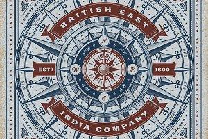 British East India Co. Typography