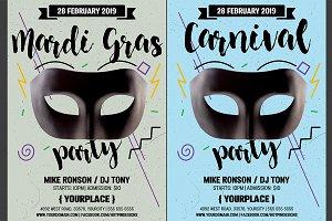Carnival | Mardi Gras Flyer