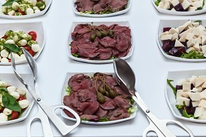 Meat with capers