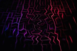 Cyberspace wired connections illustration background