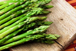 Fresh Asparagus Sprouts