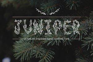 Juniper Font & Extras