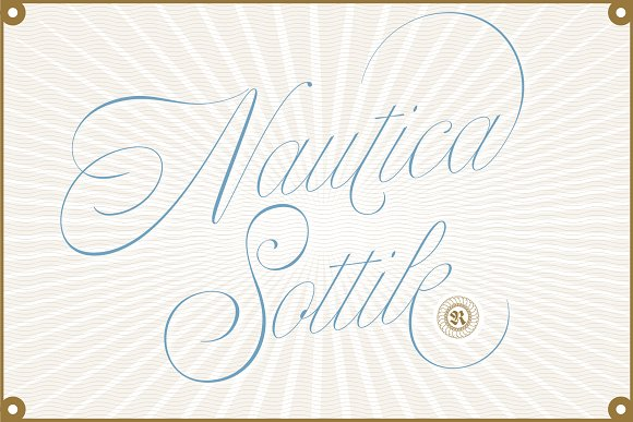 25 Nautical Fonts Inspired by Sailors, Sea, and the Navy ~ Creative