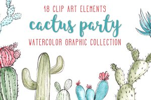 Cactus Party Graphic Collection