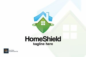 Home Shield - Logo Template