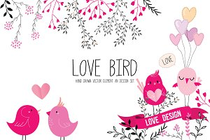 LOVE BIRD Valentine collection