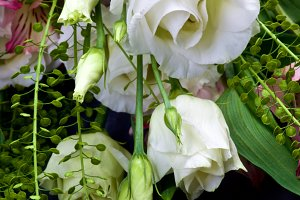 Lisianthus Flowers Bouquet