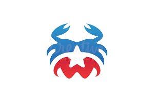 Dental Crab Logo