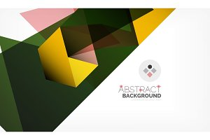 Geometric polygonal vector background