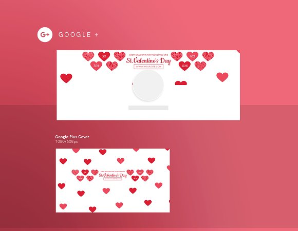 Promo Bundle | Valentine's Day in Templates - product preview 1