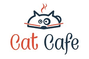 "logo ""cat cafe"""
