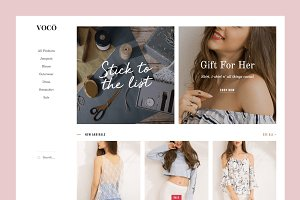 Voco: Blogger Theme for Store