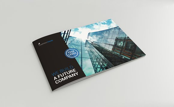 A5 Professional Brochure-Graphicriver中文最全的素材分享平台
