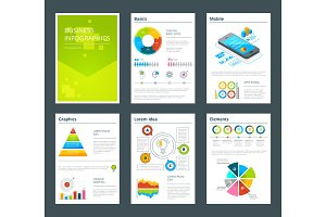 Design template of business annual reports. Vector brochure