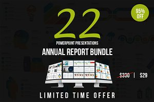 Annual Report Powerpoint Bundle