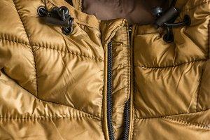 Golden man jacket