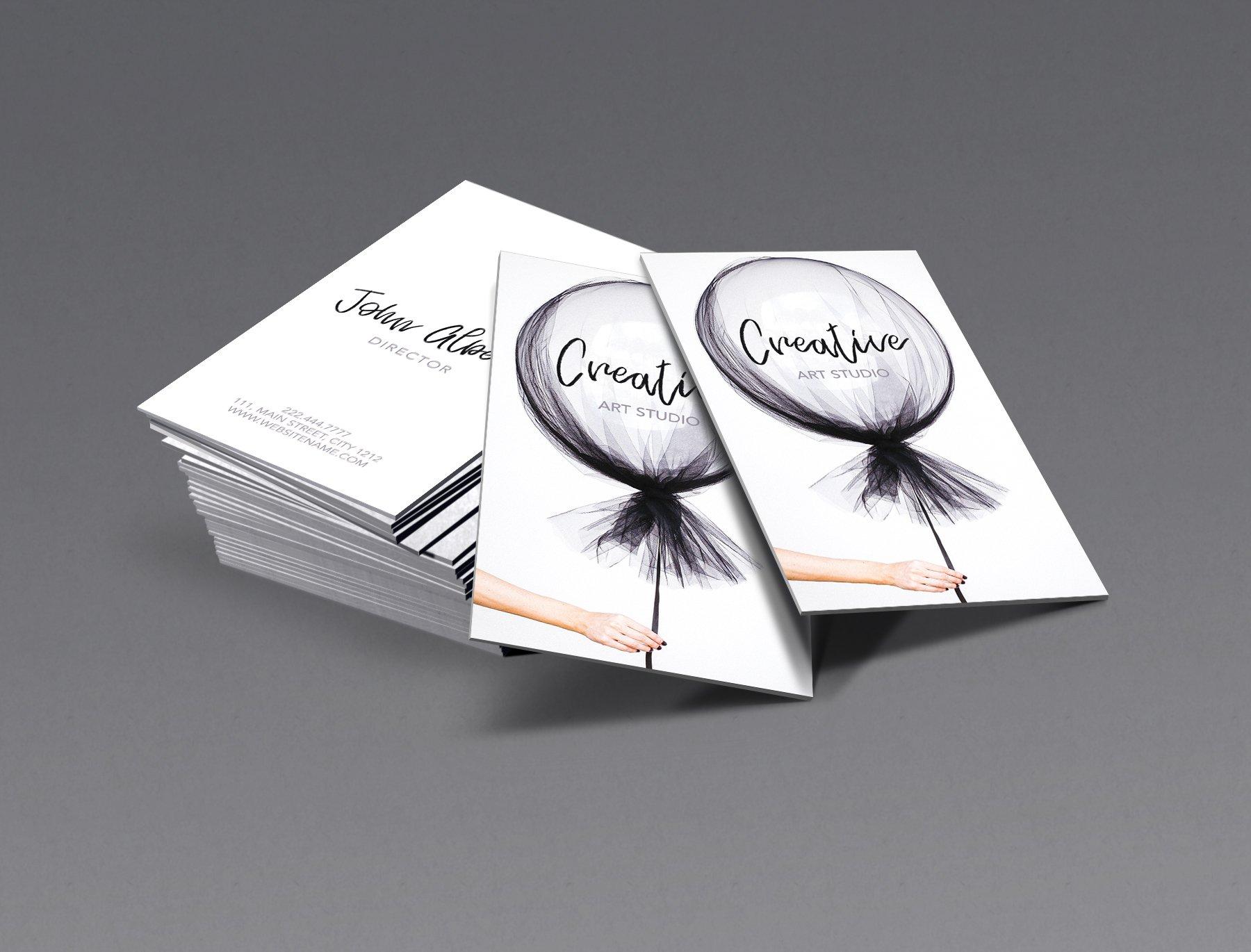 Music studio singer business card business card templates new fashion art business card colourmoves