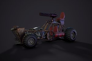 Post apocalypse buggy