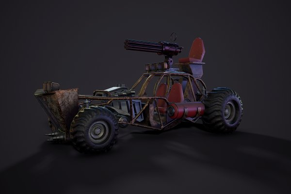 3D Models - Post apocalypse buggy