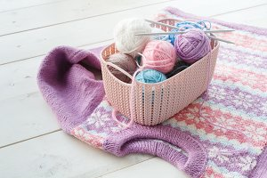 Plastic basket - home organizers