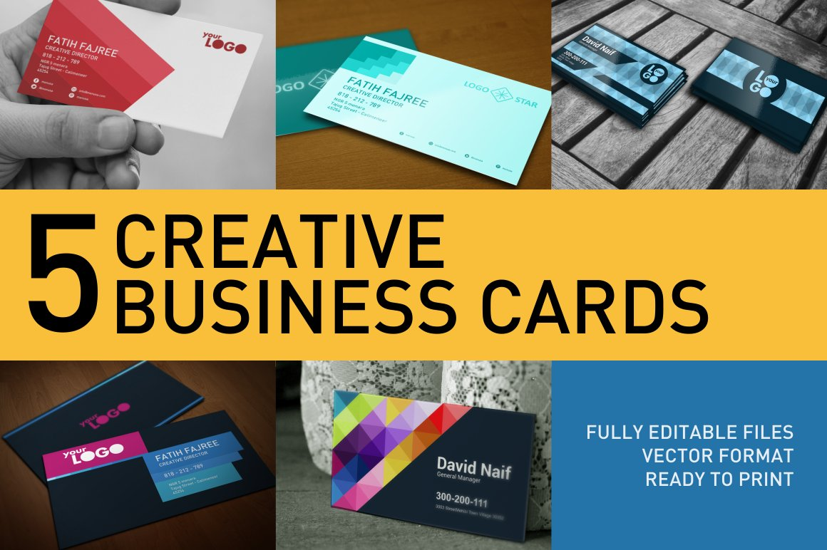 Business Card Templates ~ Business Card Templates ~ Creative Market