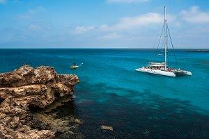 Holiday at the Mediterranean sea