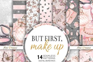 But First, Makeup Digital Paper