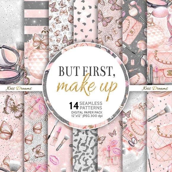 But First, Makeup Digital Paper