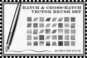 Hatch and Cross-Hatch Brushes