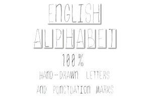 ABC Sketch-style. Hand-drawn. AE CS6