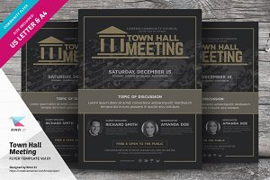 Town Hall Meeting Flyer Vol.01