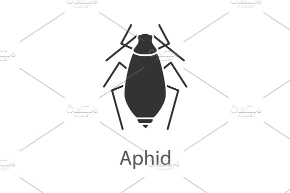 Aphid Glyph Icon