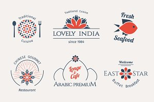 6 Food Logo Templates