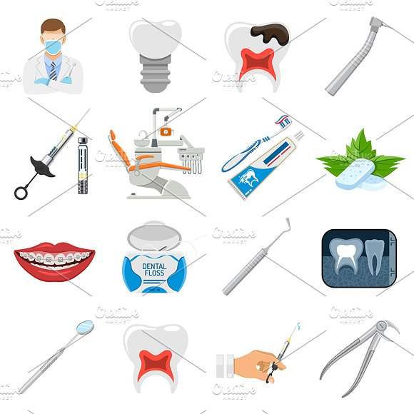 Dental Services Themes in Illustrations - product preview 2