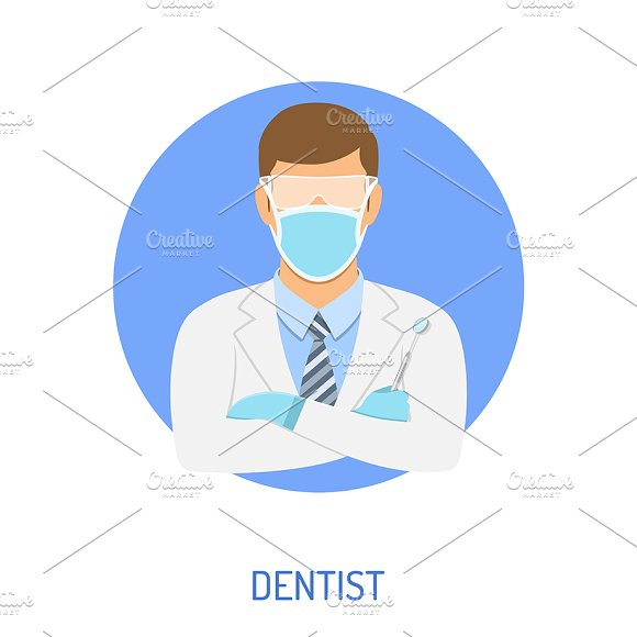 Dental Services Themes in Illustrations - product preview 3