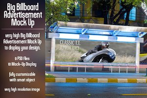 Big Billboard Advertisement Mock Up