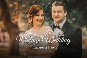 Vintage Wedding Presets