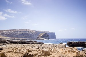 Gozo Malta Coastal Landscape