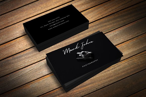 Beautiful Photography Business Card Business Card Templates - Free photography business cards templates