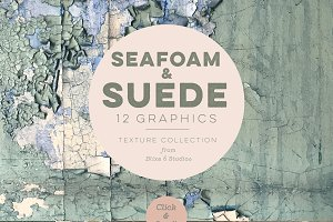 Seafoam & Suede Textured Backgrounds