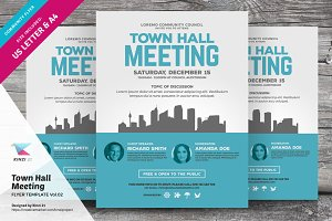 Town Hall Meeting Flyer Vol.02