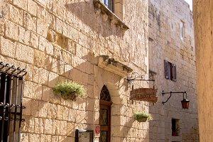 Mdina, Malta Hidden Street