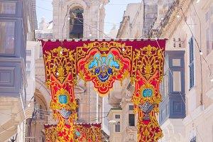 Festival Banners in Malta