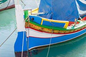 Traditional Maltese Fishingboat